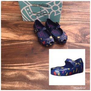 Melissa Vivienne Westwood Blue Jelly Shoes toddler